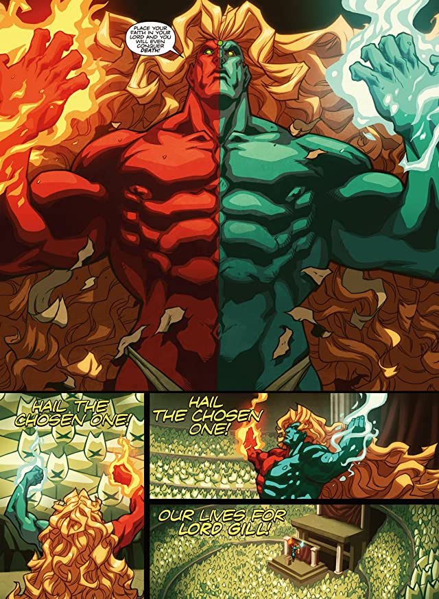 click for super-sized previews of Super Street Fighter Vol. 1: New Generations