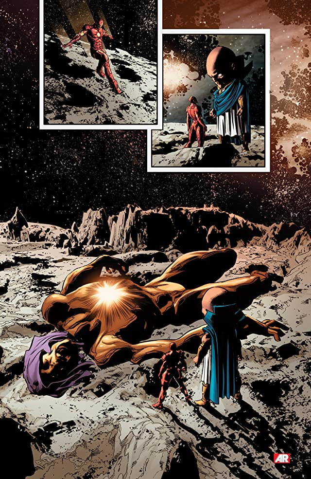 click for super-sized previews of New Avengers (2013-2015) #8