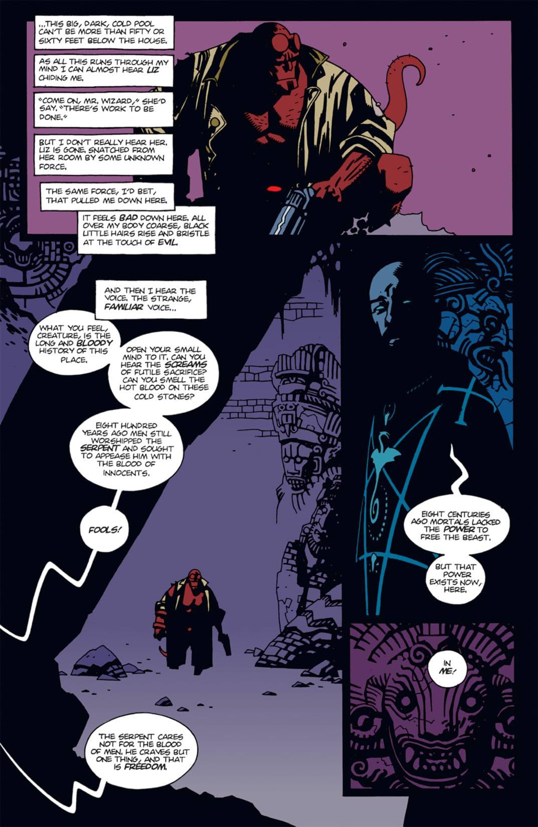 Hellboy: Seed of Destruction #3