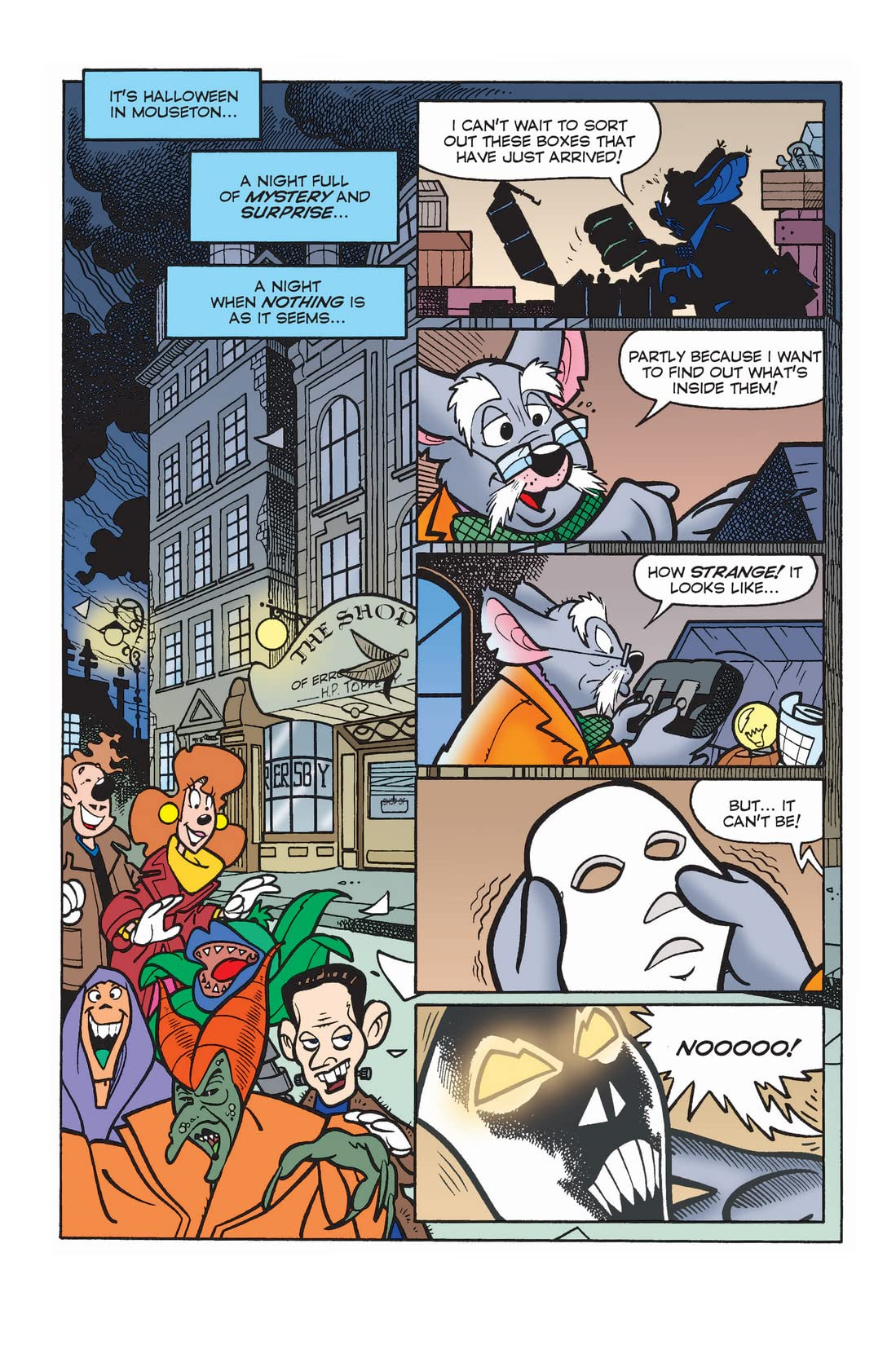 X-Mickey #7: Behind the Mask