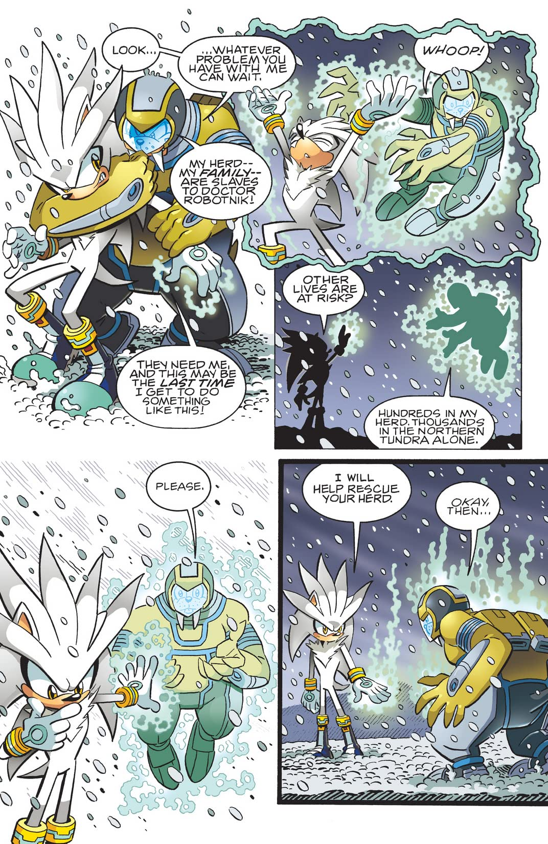 Sonic the Hedgehog #216