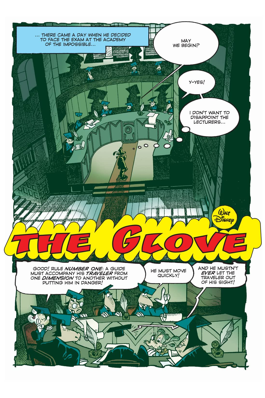 X-Mickey #8: The Glove