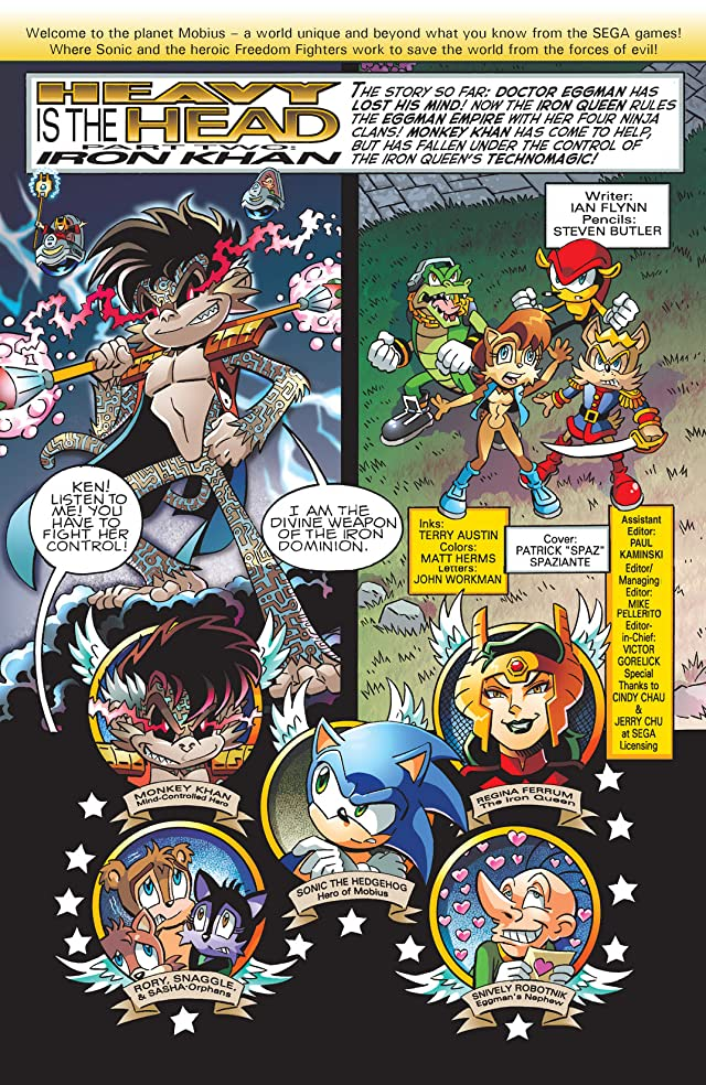 Sonic the Hedgehog #204