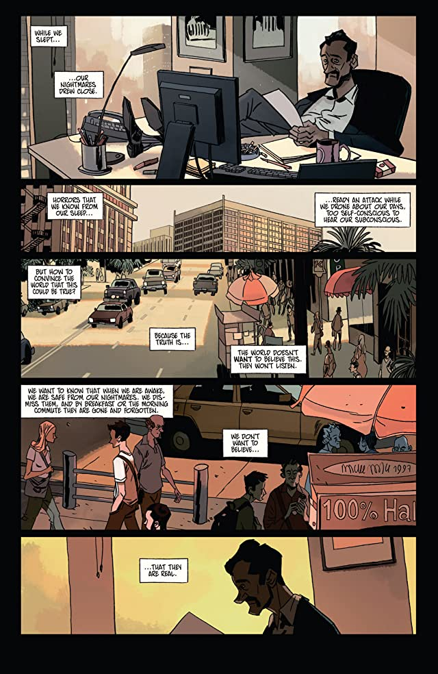 click for super-sized previews of The Dream Merchant #3