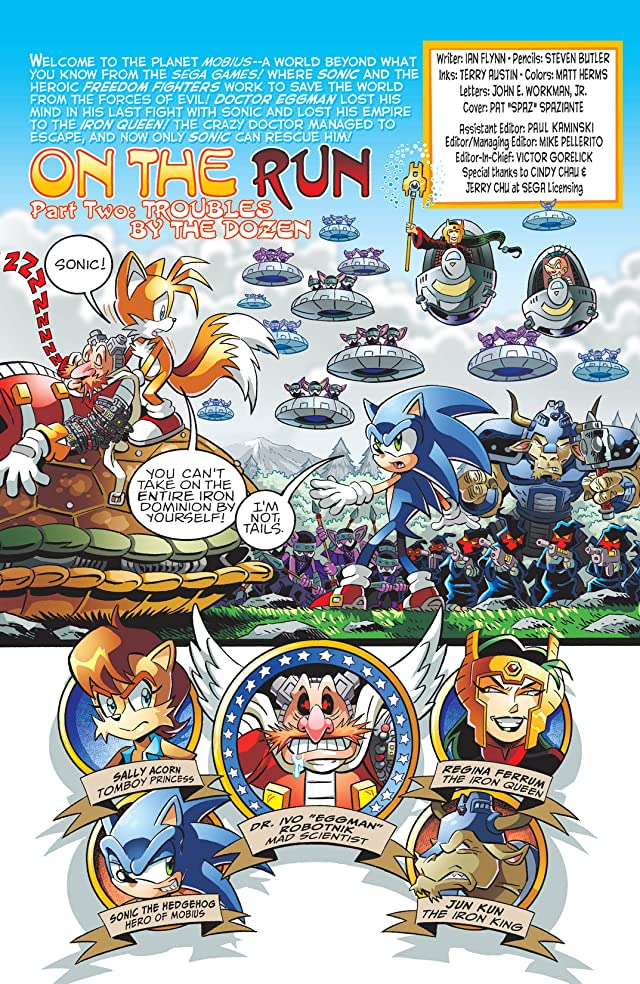 Sonic the Hedgehog #206
