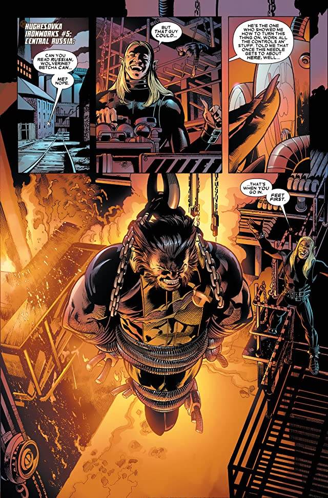 click for super-sized previews of Wolverine: Origins #39