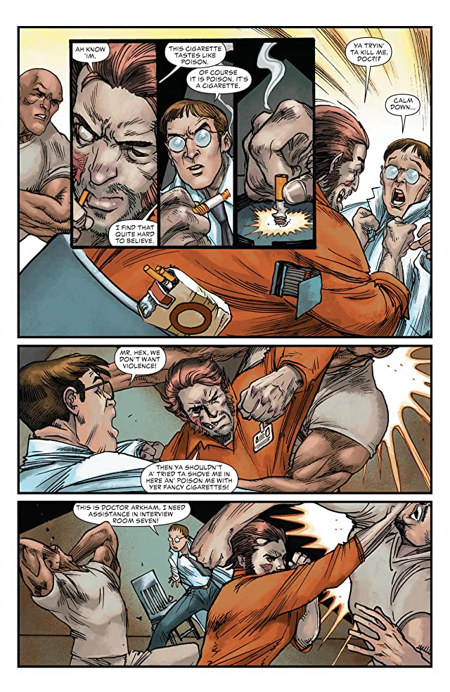 click for super-sized previews of All Star Western (2011-2014) #22
