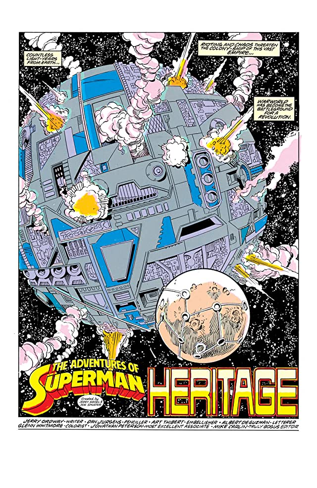 click for super-sized previews of Adventures of Superman (1986-2006) #455