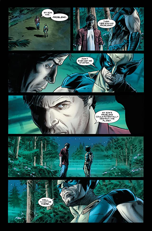 click for super-sized previews of Wolverine: Origins #42