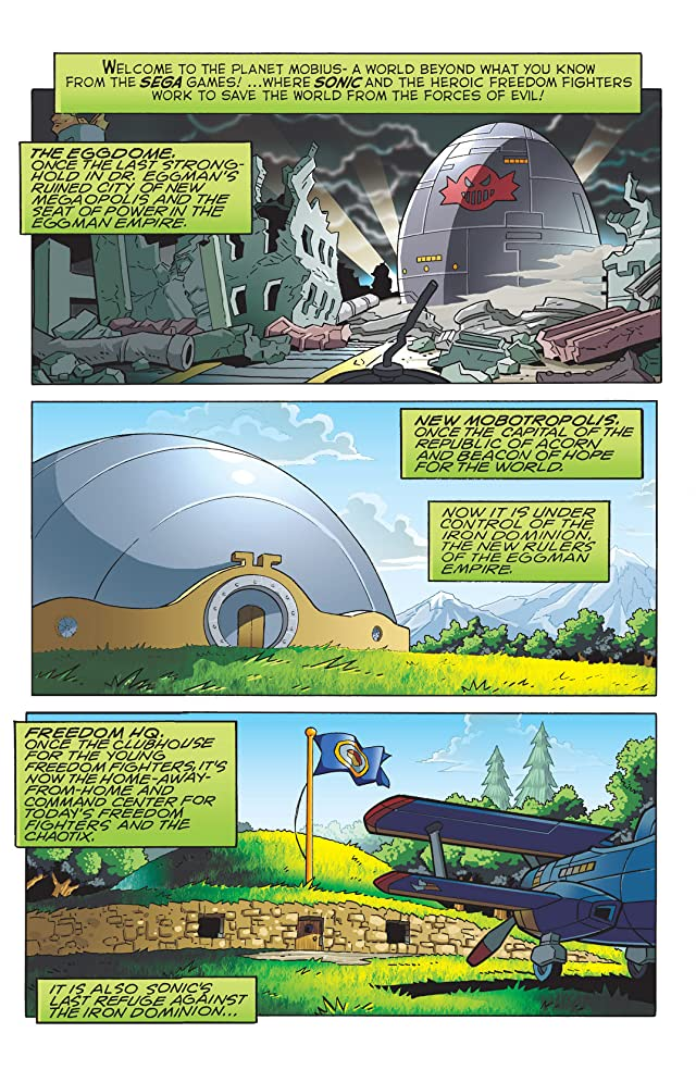 Sonic the Hedgehog #209