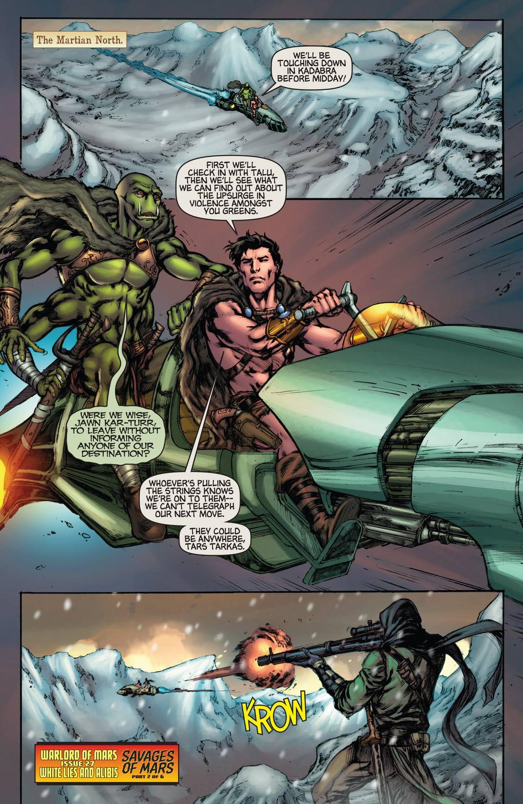Warlord of Mars #27