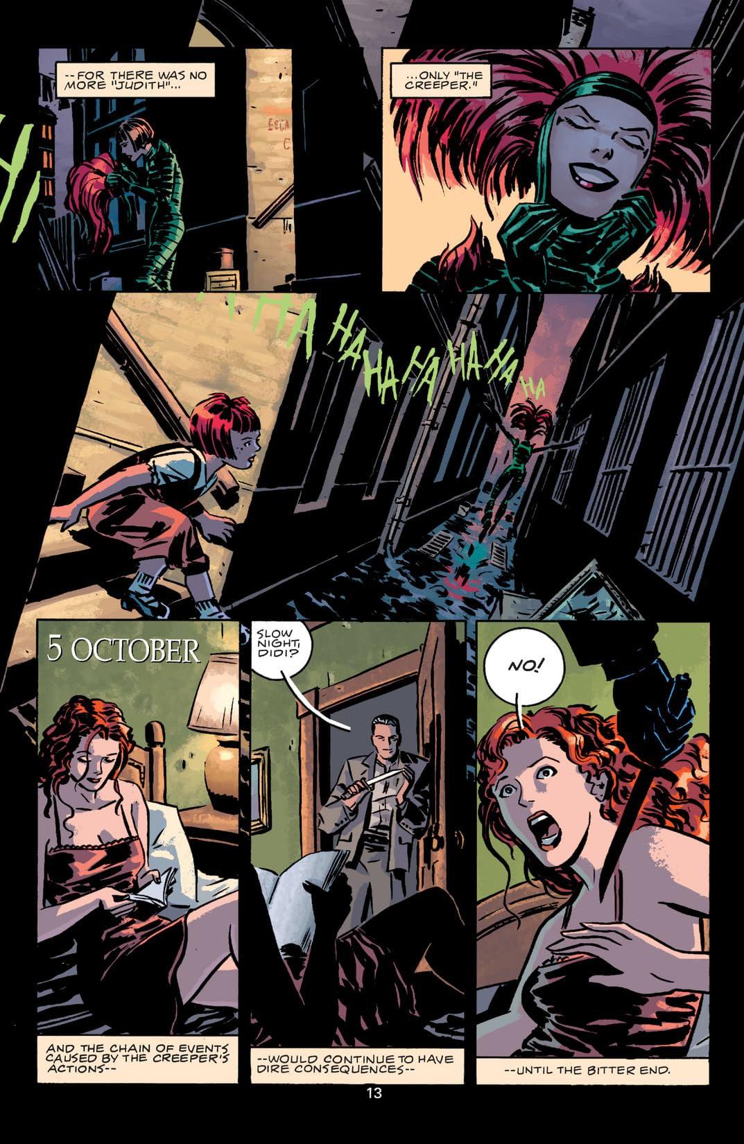 Beware The Creeper (2003) #4 (of 5)