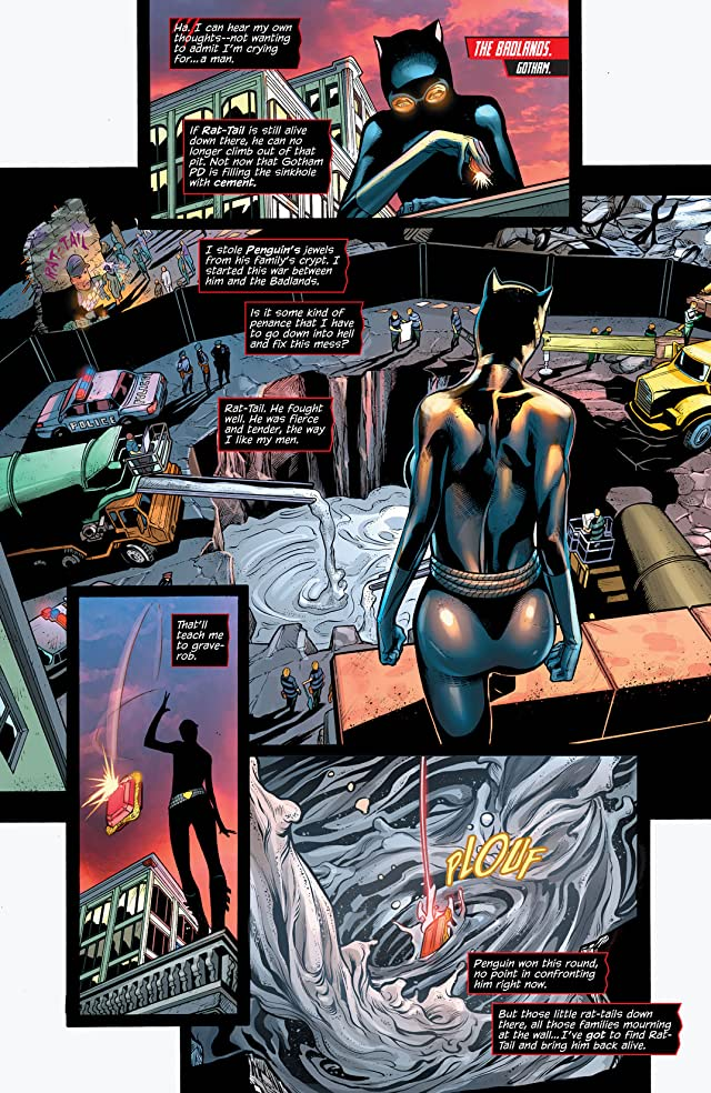 click for super-sized previews of Catwoman (2011-) #22