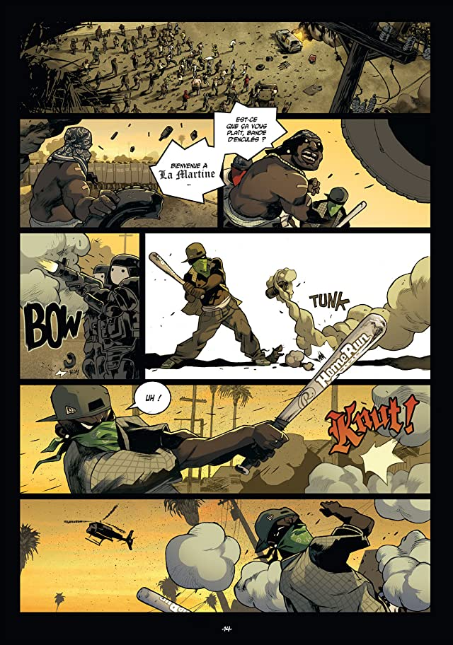 click for super-sized previews of Mutafukaz Vol. 3: Révélations