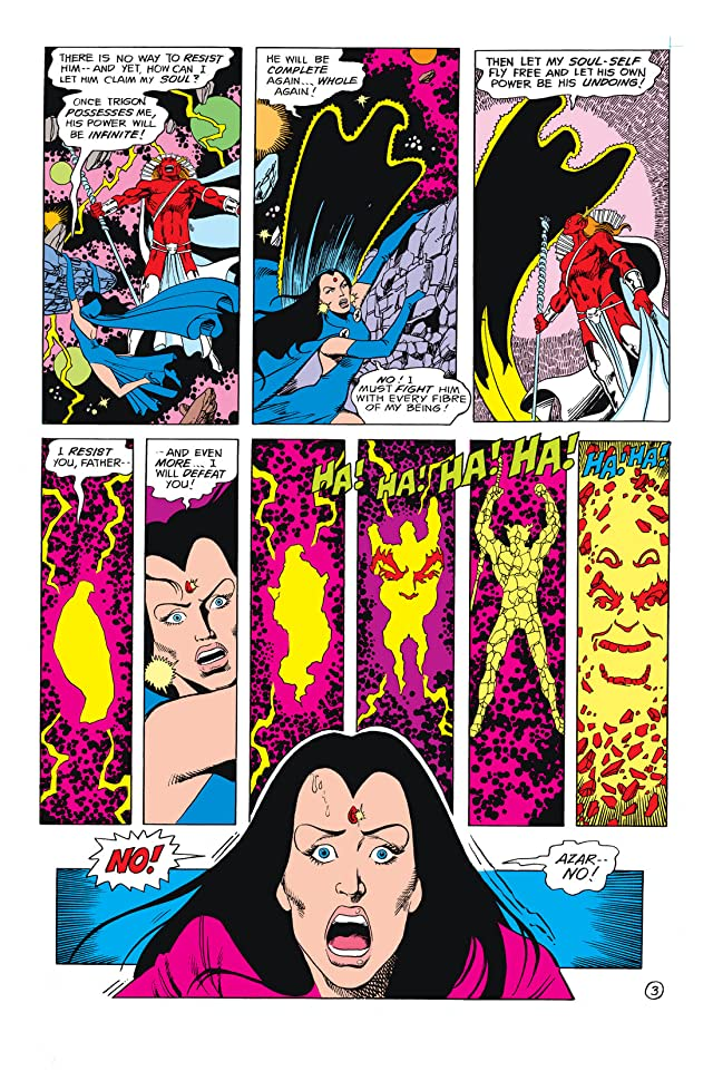 click for super-sized previews of Tales Of The New Teen Titans (1982) #2