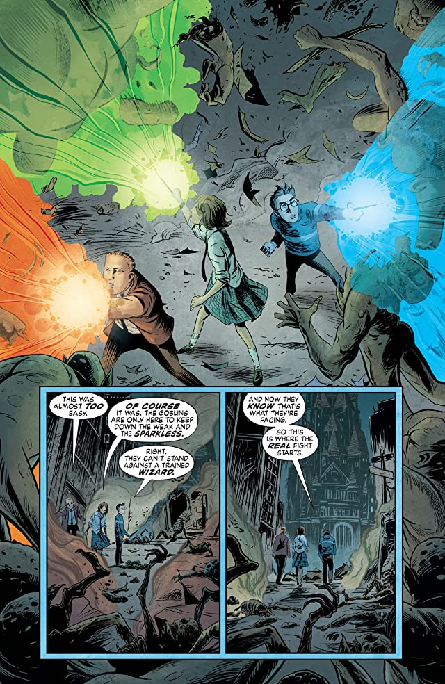 click for super-sized previews of The Unwritten #51