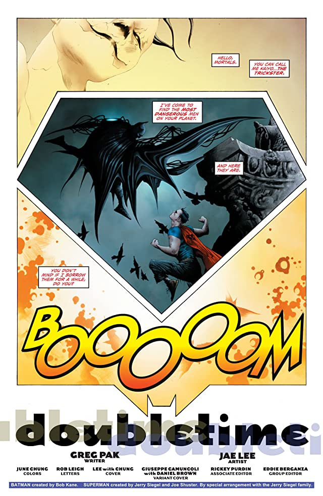 click for super-sized previews of Batman/Superman (2013-) #2