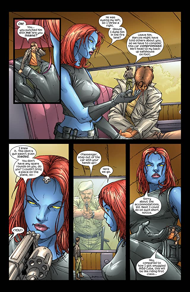 click for super-sized previews of Mystique (2003-2005) #4