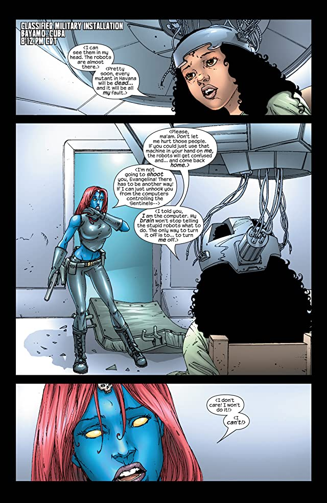 click for super-sized previews of Mystique (2003-2005) #6