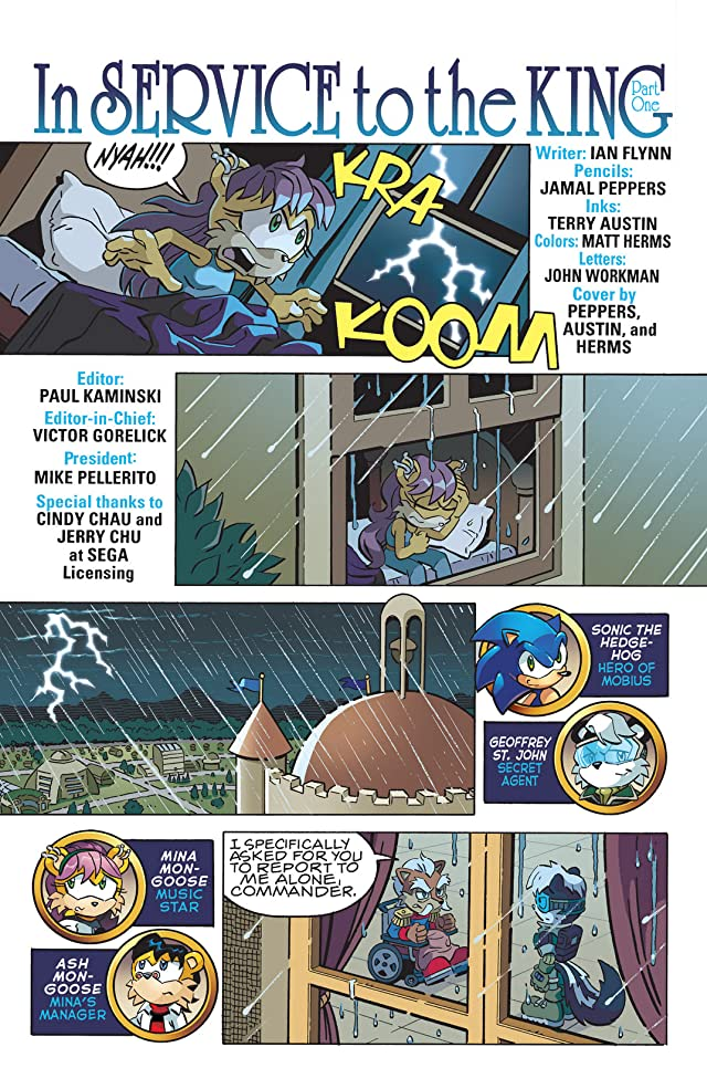 click for super-sized previews of Sonic the Hedgehog #219