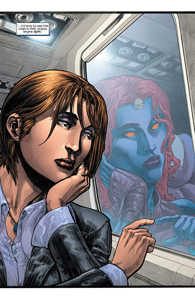 click for super-sized previews of Mystique (2003-2005) #8