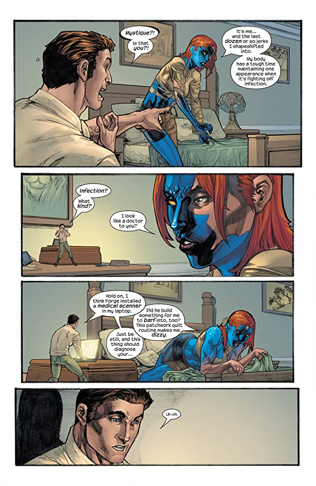 click for super-sized previews of Mystique (2003-2005) #9