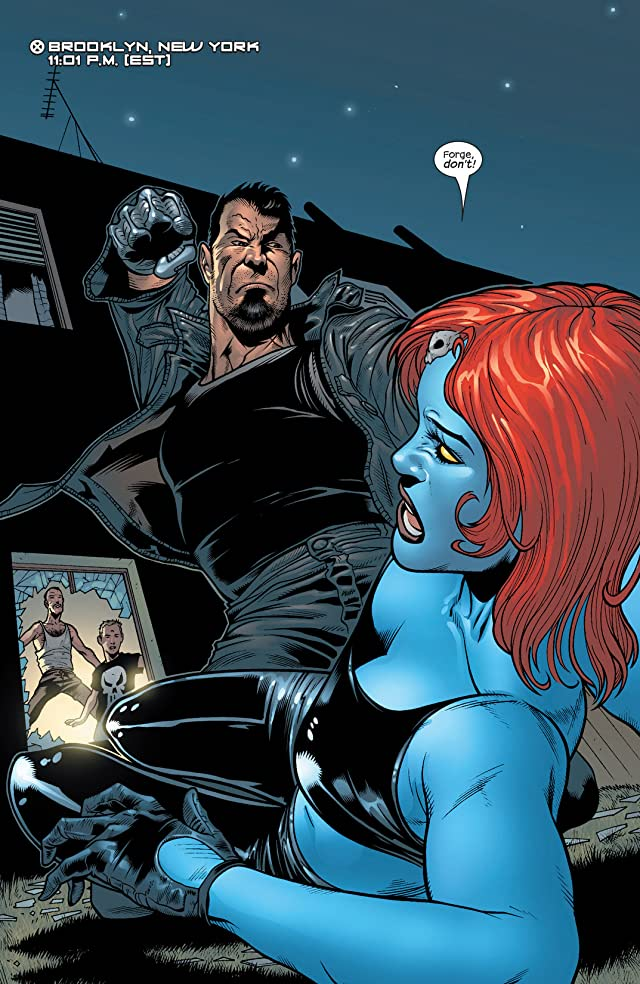 click for super-sized previews of Mystique (2003-2005) #12