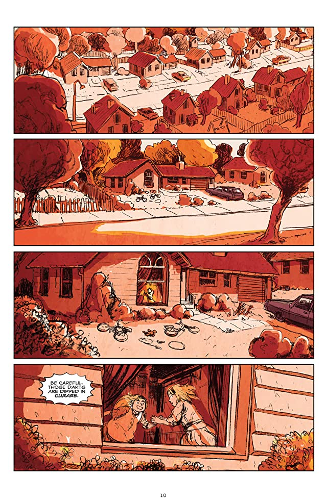 click for super-sized previews of The Crow: Curare #2