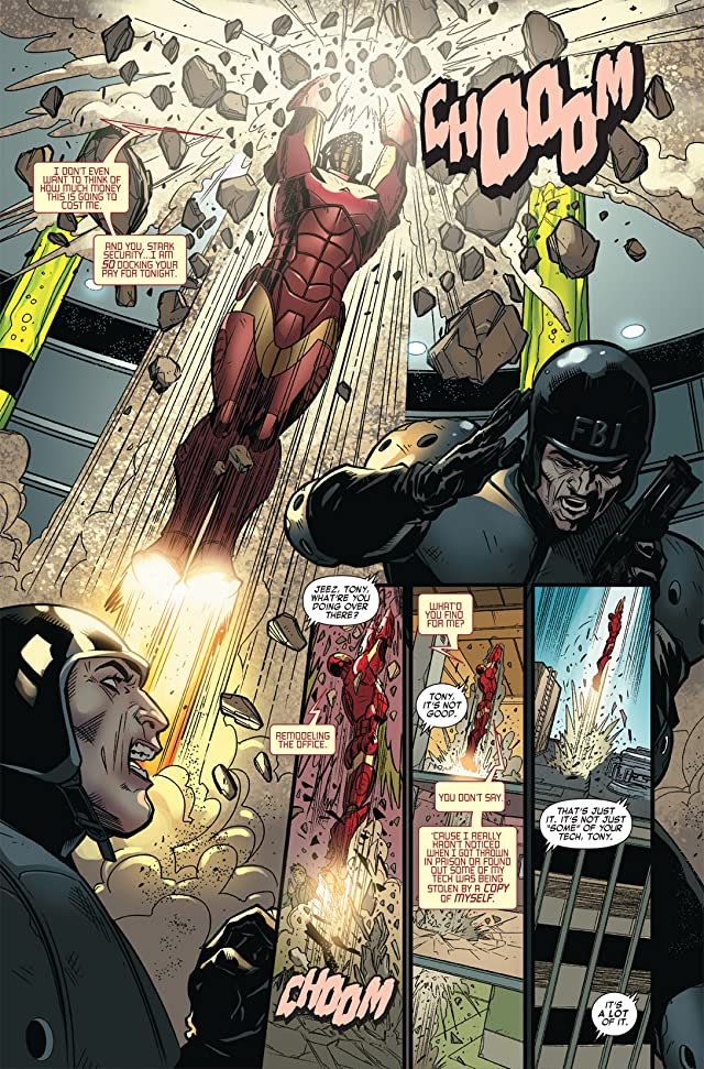 click for super-sized previews of Iron Man vs. Whiplash #4
