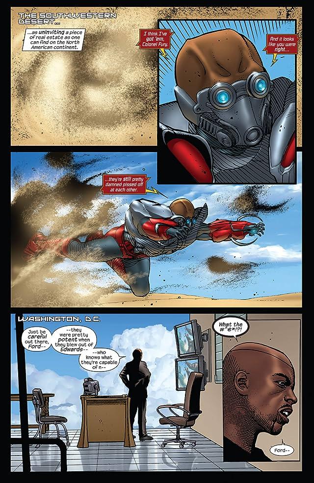 click for super-sized previews of Squadron Supreme (2008-2009) #4