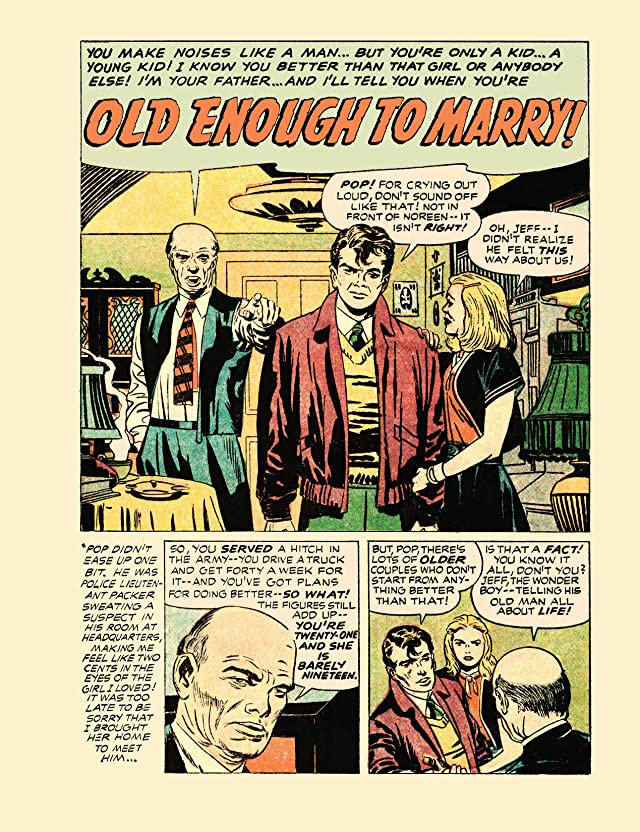 Young Romance: Simon & Kirby 1940-1950 - Part 3 Vol. 1