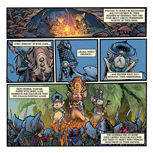 click for super-sized previews of Mouse Guard: Legends of the Guard Vol. 2 #3