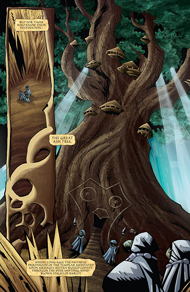 click for super-sized previews of The Mice Templar Vol. 4: Legend #5