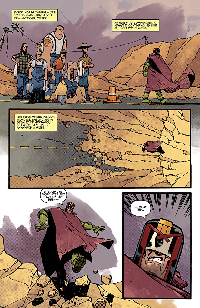 click for super-sized previews of Judge Dredd #9