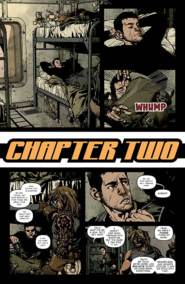 click for super-sized previews of Wild Blue Yonder #2 (of 6)
