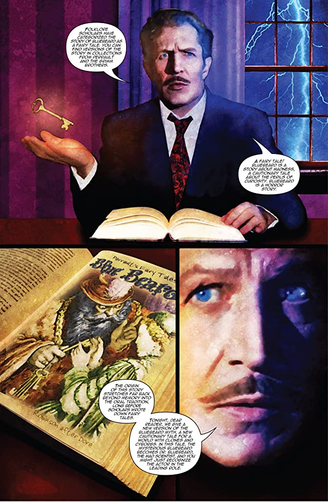 click for super-sized previews of Vincent Price Presents Vol. 1