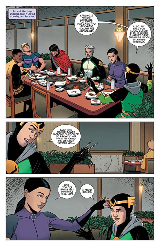 click for super-sized previews of Young Avengers (2013) #8