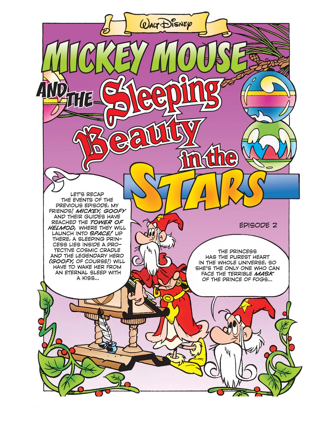 Mickey Mouse and the Sleeping Beauty in the Stars #2