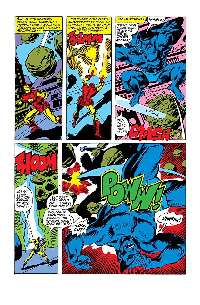 click for super-sized previews of Avengers (1963-1996) #157