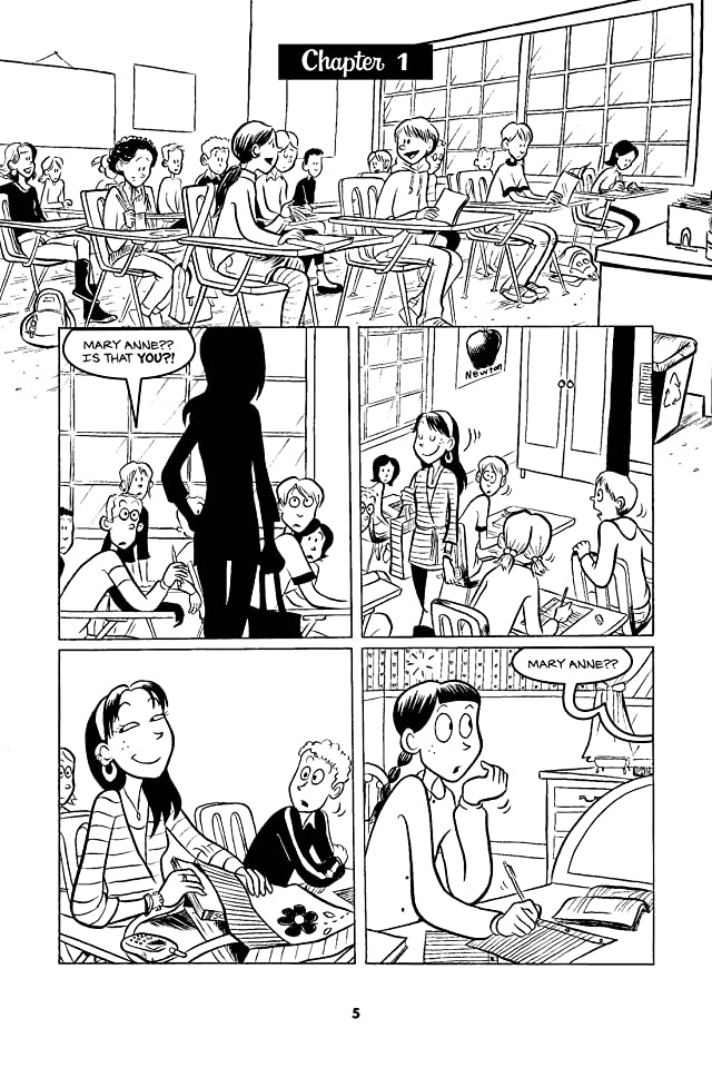 click for super-sized previews of The Baby-Sitters Club Vol. 3: Mary Anne Saves the Day