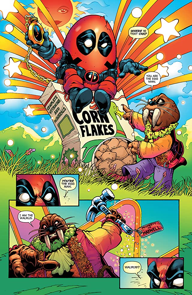 click for super-sized previews of Fear Itself: Deadpool #3