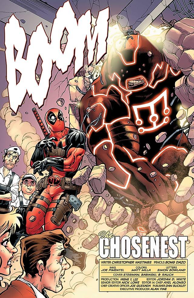 Fear Itself: Deadpool #1 (of 3)