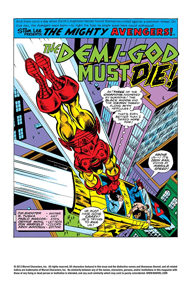 click for super-sized previews of Avengers (1963-1996) #163