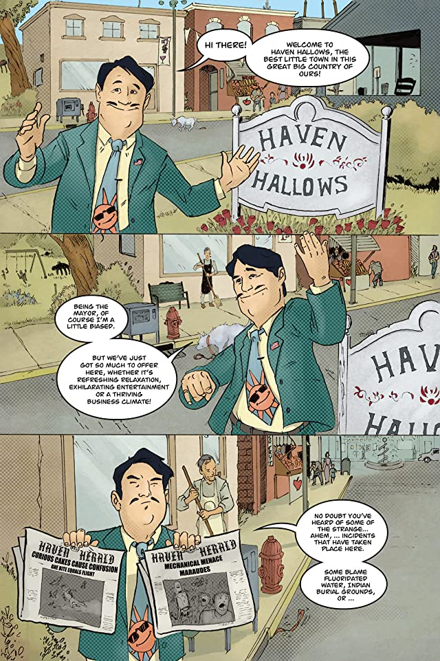 click for super-sized previews of Beware... #1