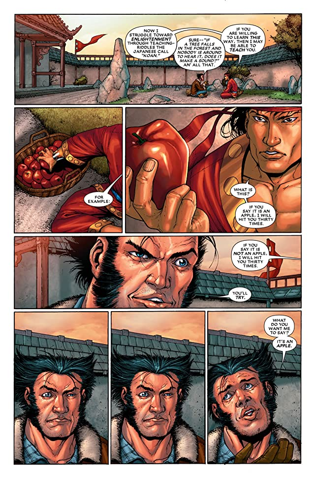 click for super-sized previews of Wolverine: First Class #9