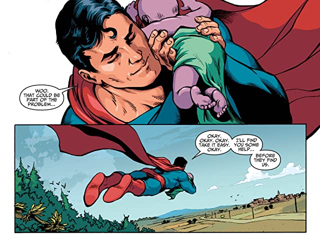 click for super-sized previews of Adventures of Superman (2013-2014) #14