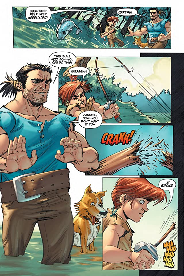 click for super-sized previews of Skyward #1
