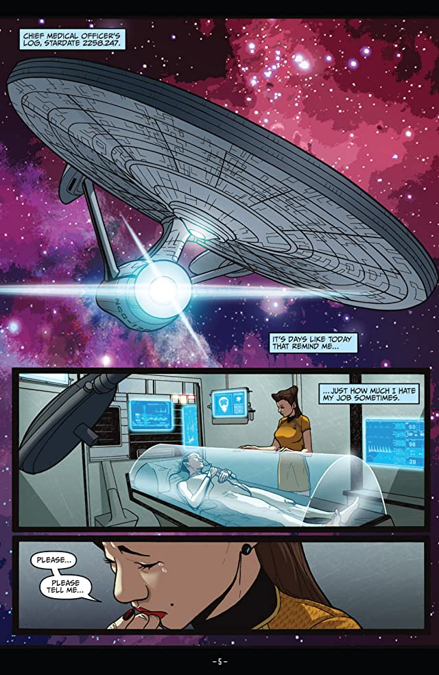 click for super-sized previews of Star Trek (2011-) Vol. 5