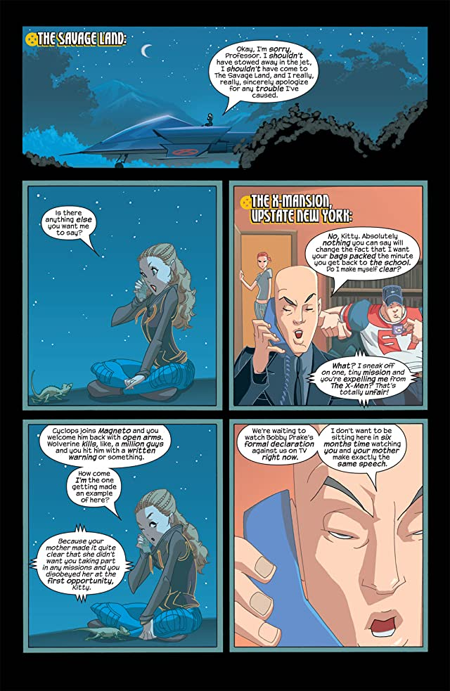 click for super-sized previews of Ultimate X-Men #24