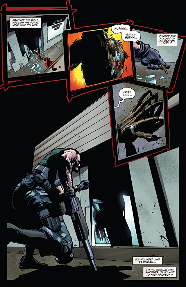Unleashed: Werewolves The Hunger #3 (of 3)